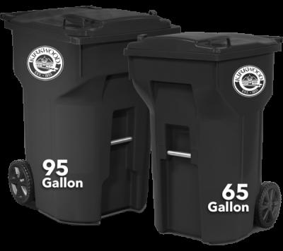 95 and 65 Gallon Trash Carts